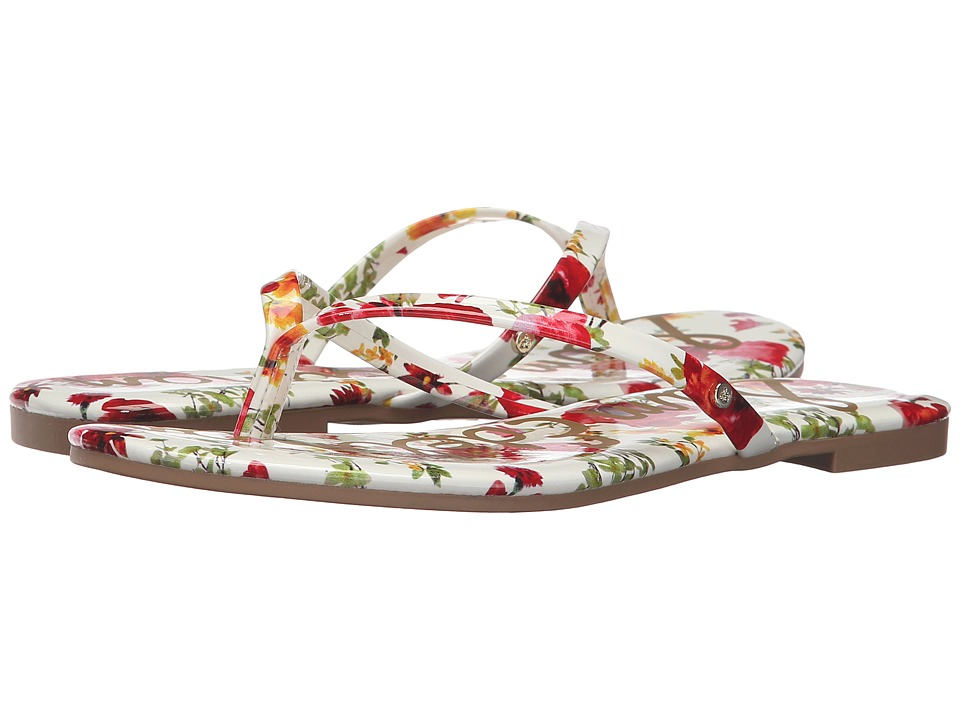 Sam Edelman - Oliver (White Multi Garden of Poppy) Women's Sandals
