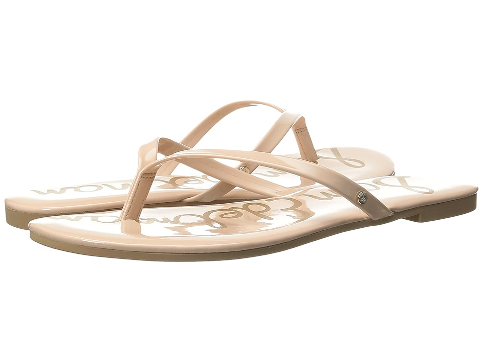 Sam Edelman - Oliver (Seashell Pink Patent) Women's Sandals