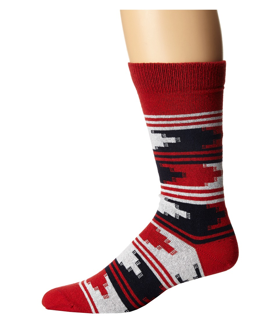 Richer Poorer - US Counselor (Red) Men's Crew Cut Socks Shoes