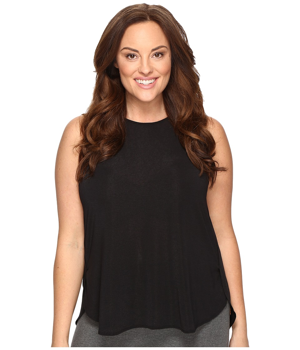 Lucy - Extended Dream On Muscle Tank Top (Lucy Black) Women's Sleeveless