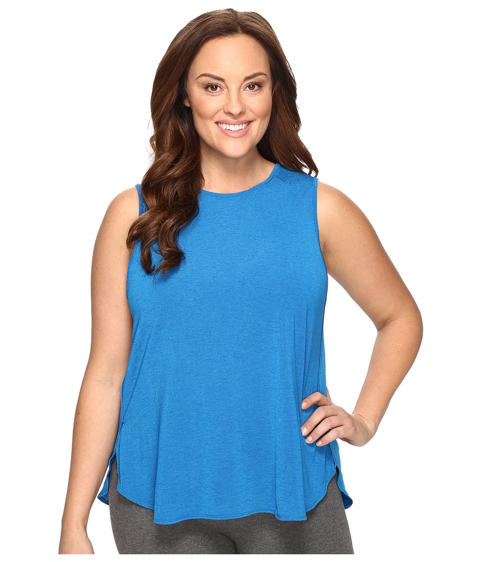 Lucy - Extended Dream On Muscle Tank Top (Imperial Blue) Women's Sleeveless
