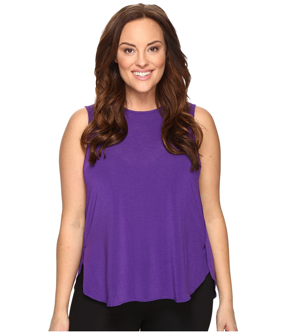 Lucy - Extended Dream On Muscle Tank Top (Prism Violet) Women's Sleeveless