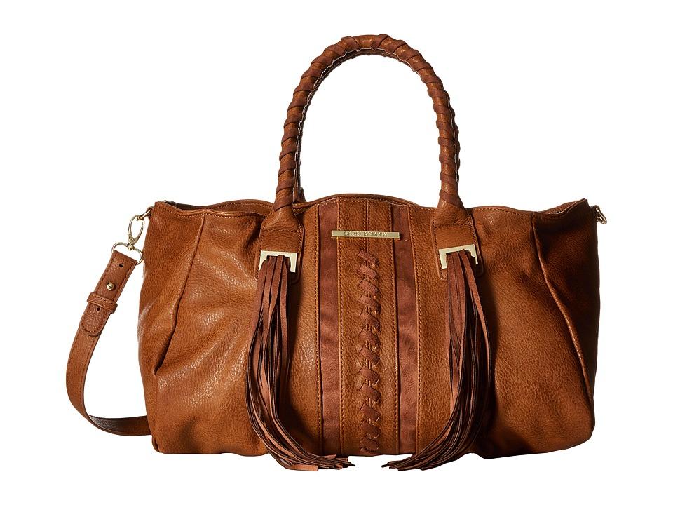Steve Madden - BGinger Satchel (Cognac) Satchel Handbags