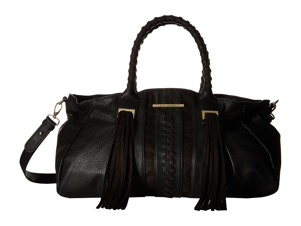 Steve Madden - BGinger Satchel (Black) Satchel Handbags