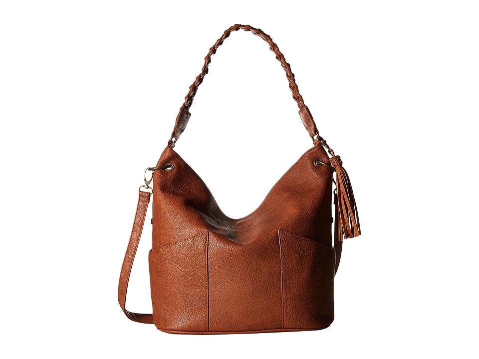 Steve Madden - BBolt Hobo (Cognac) Hobo Handbags