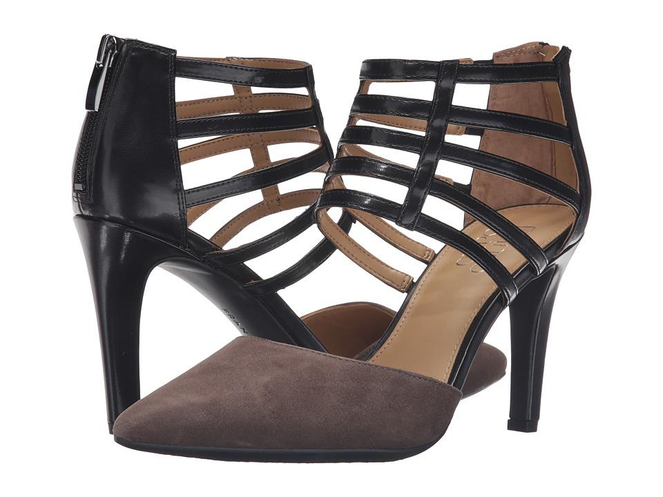 Franco Sarto - Anniston (Grey/Black) Women's Shoes