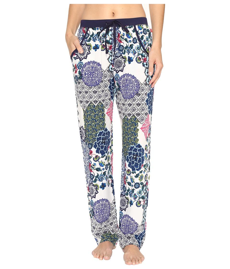 Josie - Challis Pants (Blue Multi) Women's Pajama