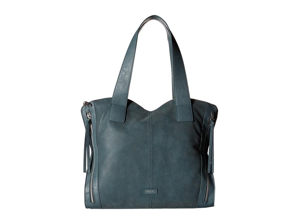 Relic - Kerrington Tote (Tumbled Indigo) Tote Handbags