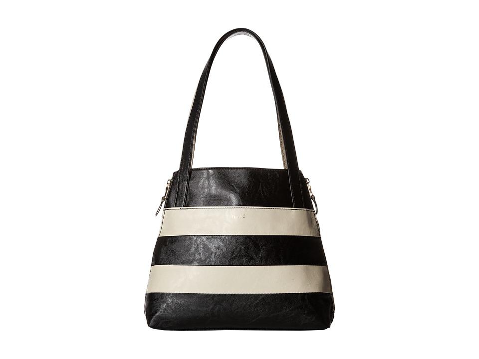 Relic - Emma Tote (Black Patchwork) Tote Handbags