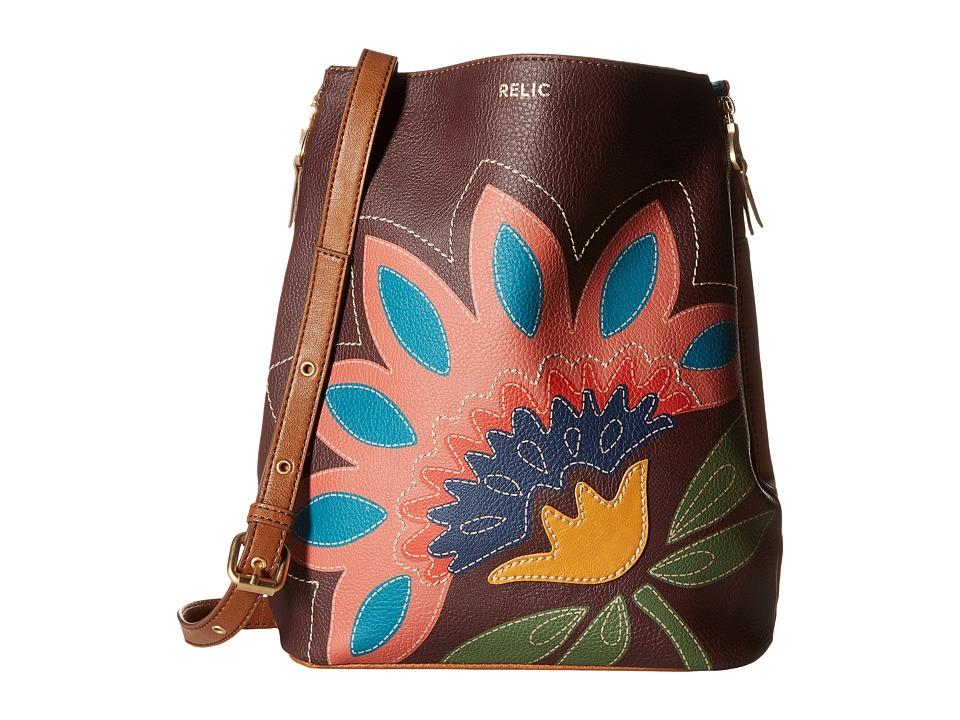 Relic - Emma Bucket Crossbody (Flower) Cross Body Handbags