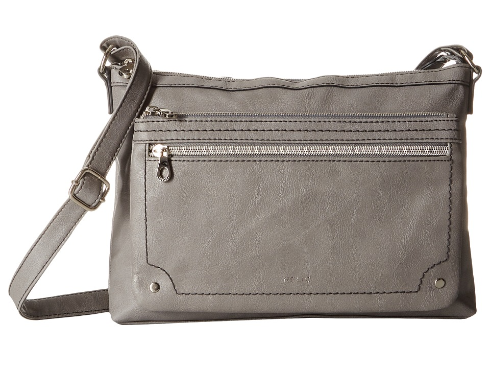 Relic - Evie East West Crossbody (Smoke) Cross Body Handbags