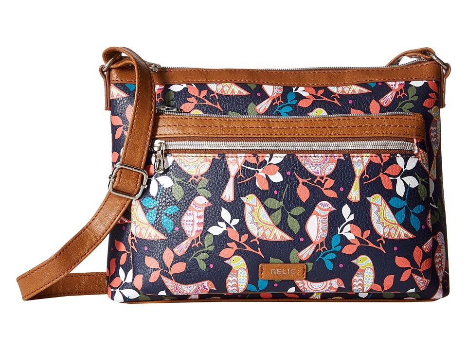 Relic - Evie East West Crossbody (Bird) Cross Body Handbags