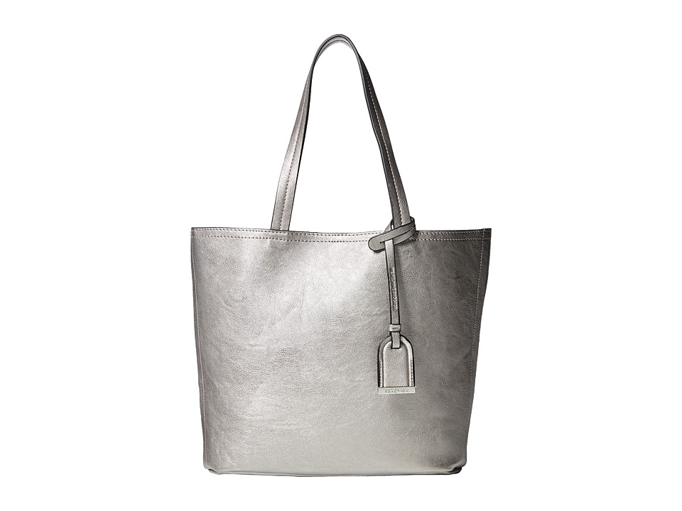 Kenneth Cole Reaction - Clean Slate Medium Shopper (Silver) Tote Handbags