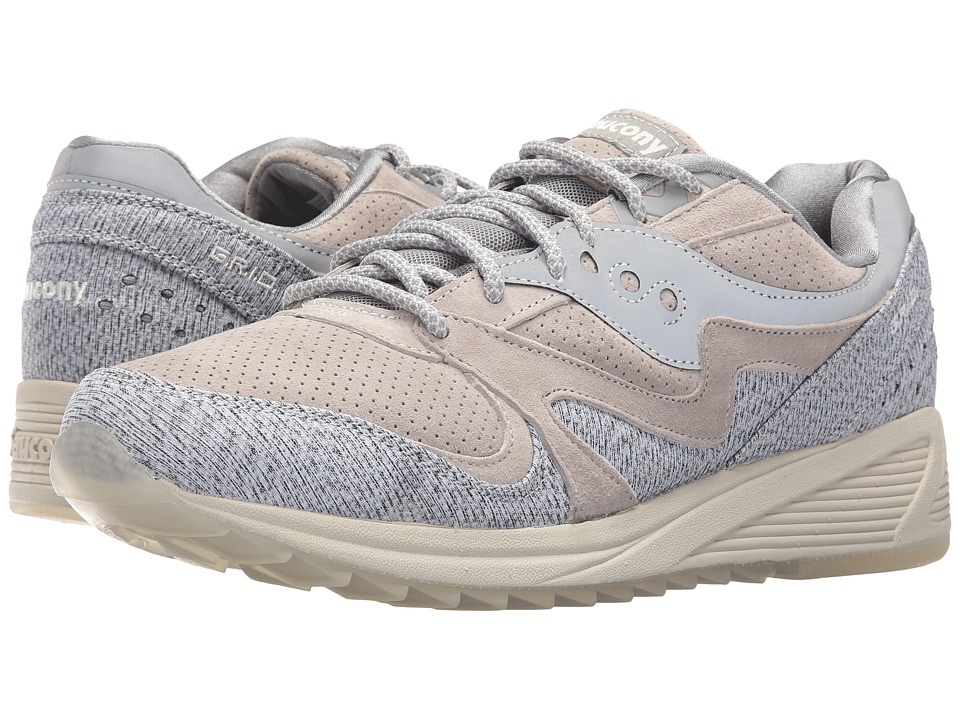 Saucony Originals - Grid 8000 CL Dirty Snow II (Grey) Men's Classic Shoes