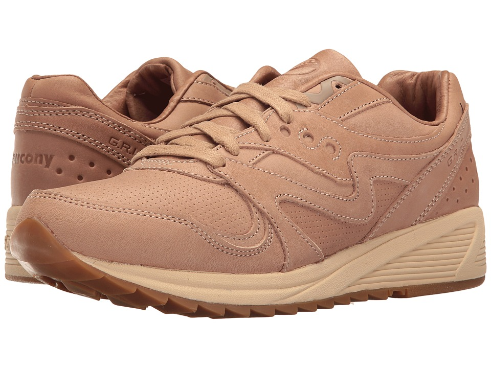 Saucony Originals - Grid 8000 CL - Veg Tan Pack (Veg Tan) Men's Classic Shoes