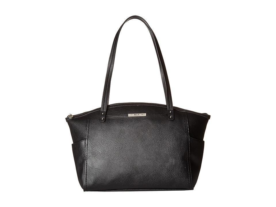 Relic - Caraway Solids Medium Tote (Black) Tote Handbags