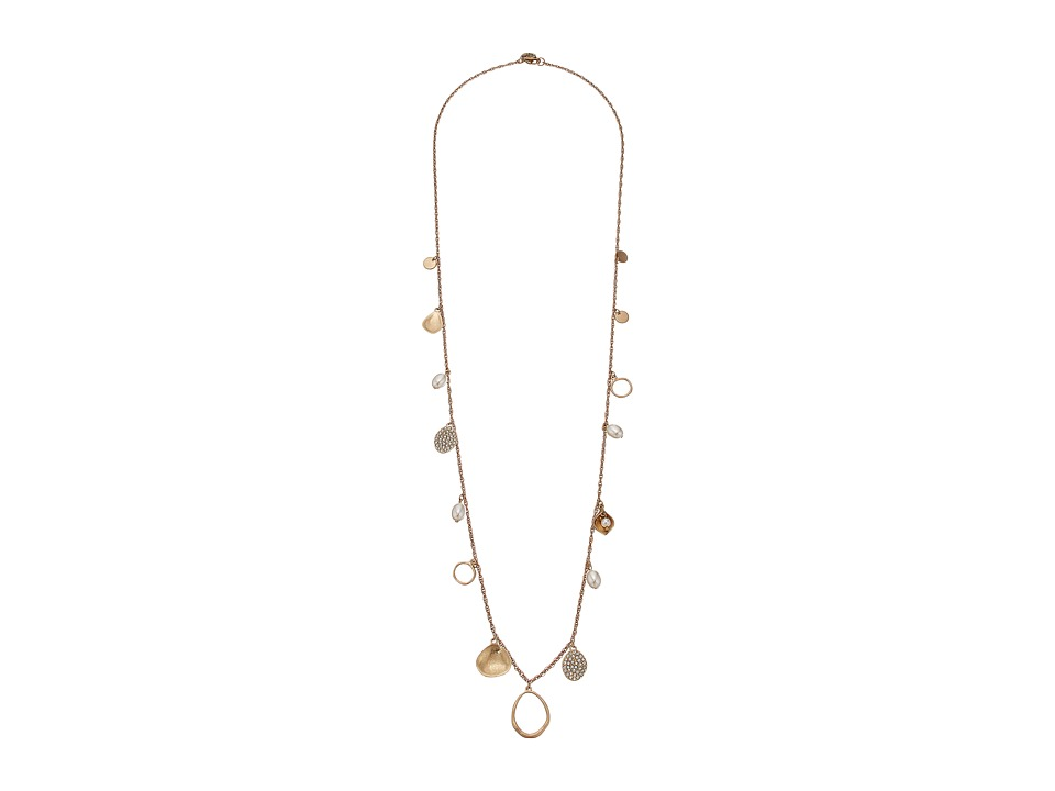 The Sak - Pearl Pave Shaky Necklace 34 (Gold) Necklace