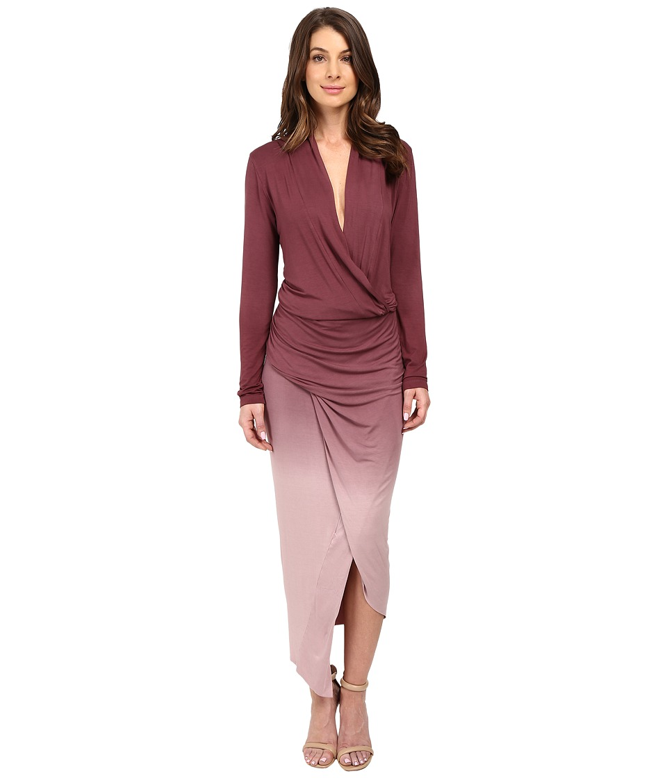 Young Fabulous & Broke - Brielle Maxi (Rouge Ombre) Women's Dress