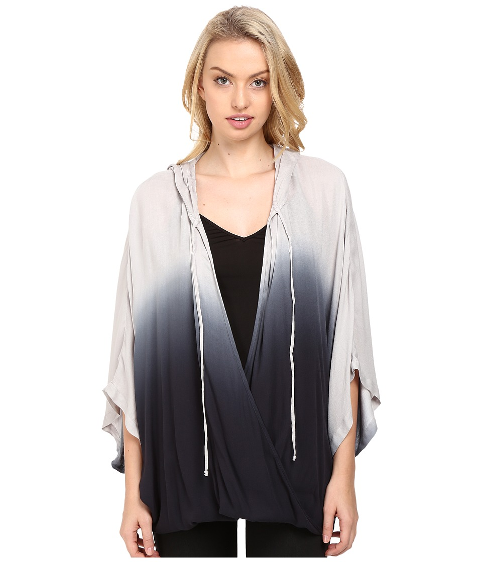 Young Fabulous & Broke - Palley Top (Black Ombre) Women's Clothing