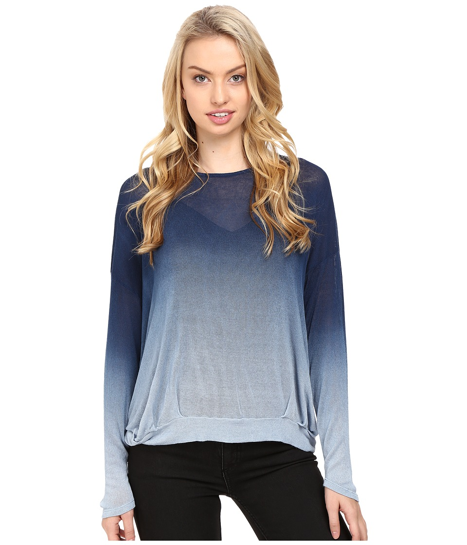 Young Fabulous & Broke - Renee Sweater (Blue Ombre) Women's Sweater