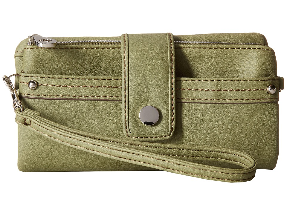 Relic - Vicky Tab Checkbook (Sage) Checkbook Wallet