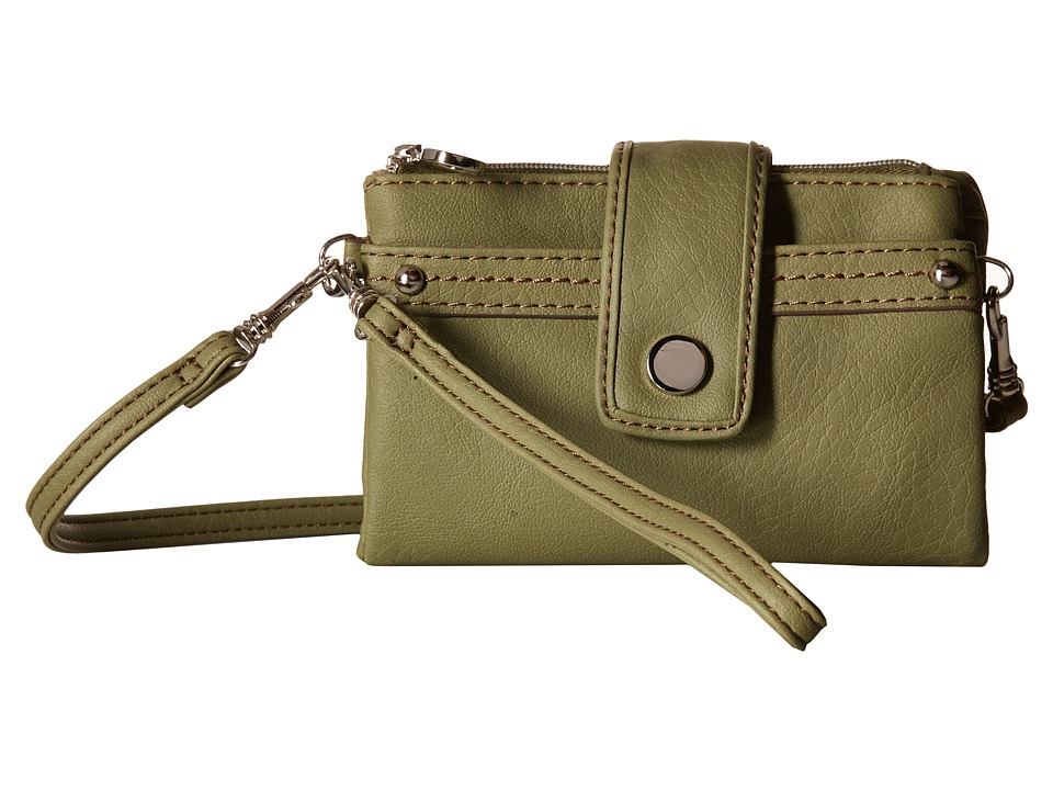 Relic - Vicky Multifunction (Sage) Clutch Handbags