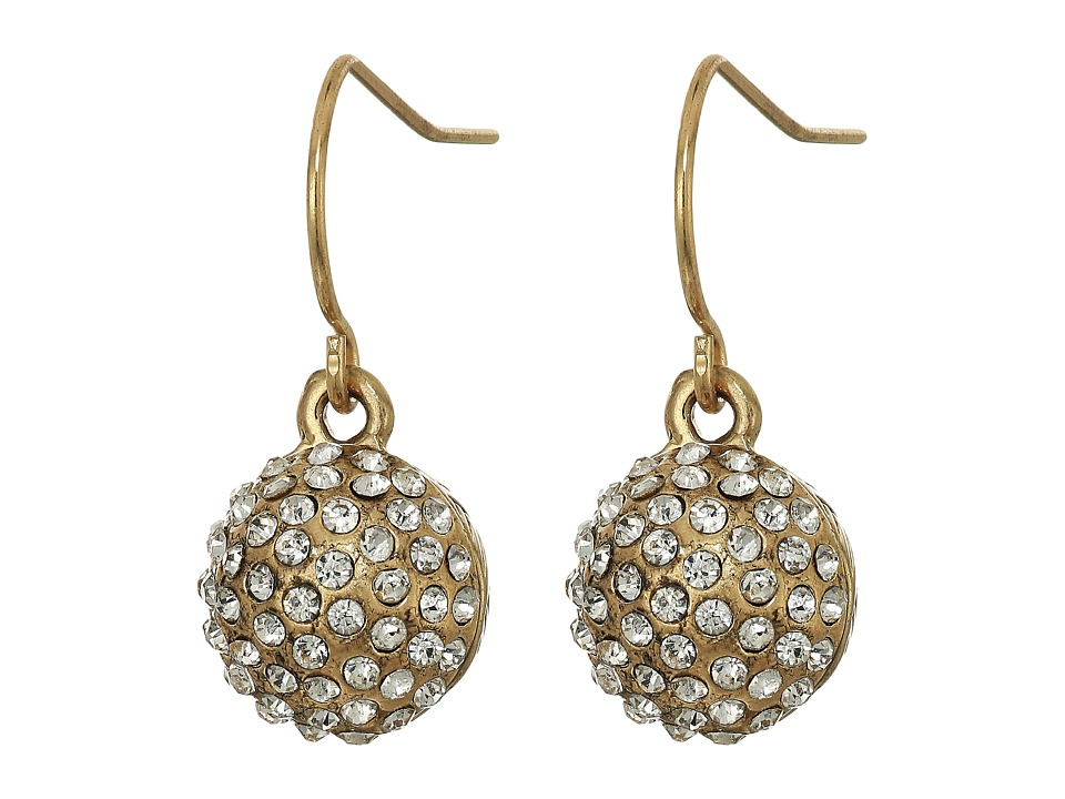 The Sak - Fireball Batik Drop Earrings (Gold) Earring