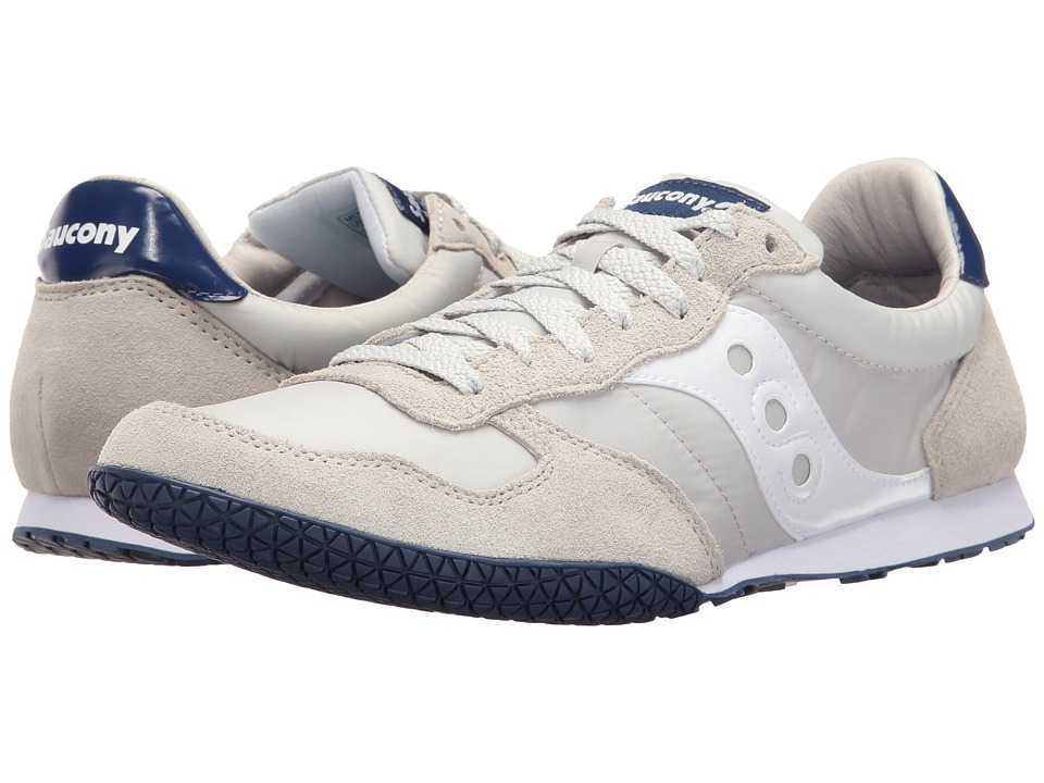 Saucony Originals - Bullet (Light Grey/Blue 1) Men's Classic Shoes