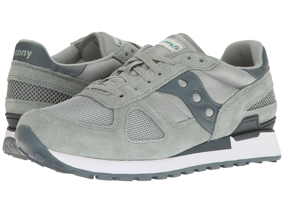 Saucony Originals - Shadow Original (Green/Charcoal) Men's Classic Shoes