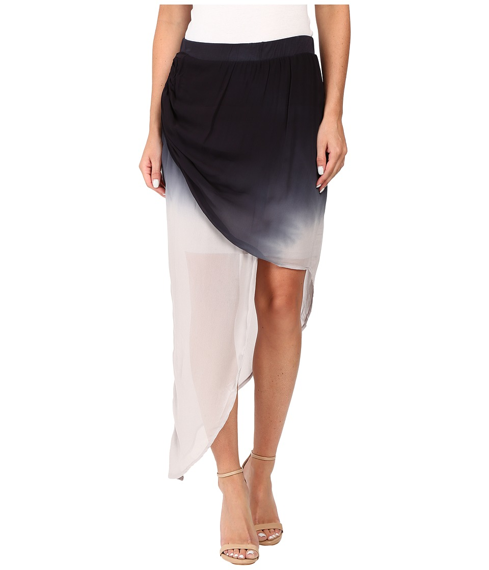 Young Fabulous & Broke - Mala Skirt (Black Ombre) Women's Skirt