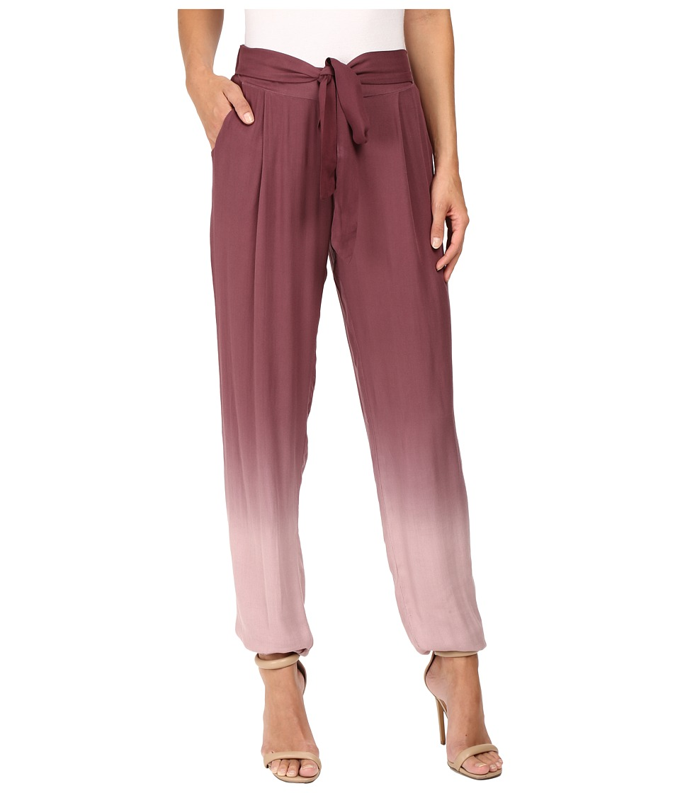 Young Fabulous & Broke - Ciarra Pants (Rouge Ombre) Women's Casual Pants