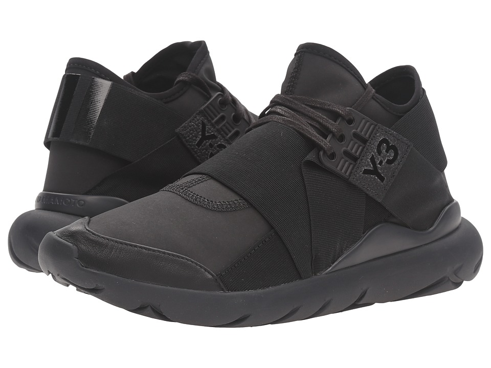adidas Y-3 by Yohji Yamamoto - Qasa Elle Lace (Core Black/Core Black/Carbon) Women's Shoes