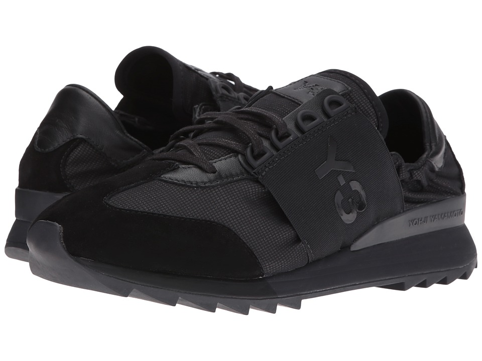 adidas Y-3 by Yohji Yamamoto - Rhita Sport (Core Black/Core Black/Carbon) Women's Lace up casual Shoes
