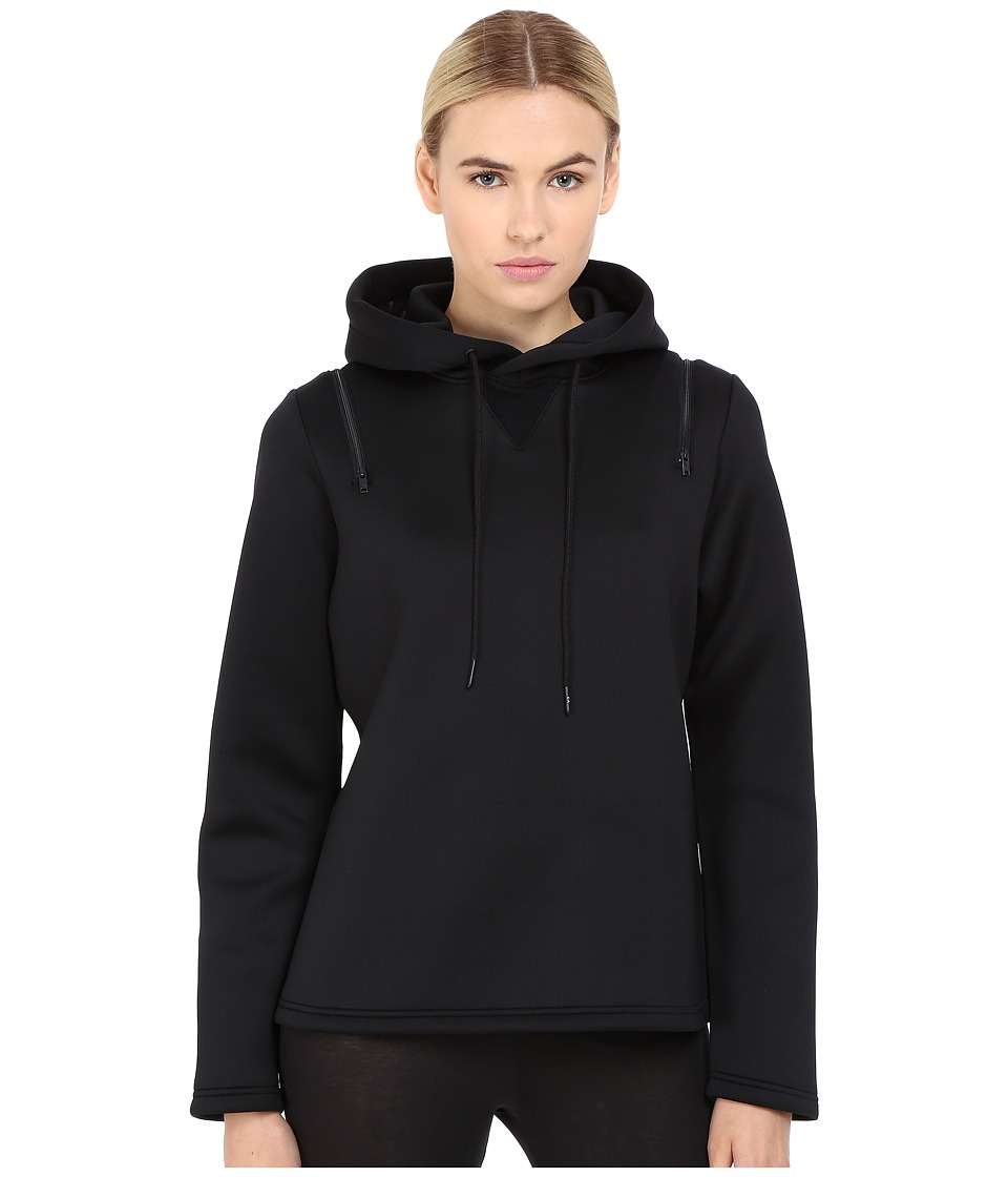 adidas Y-3 by Yohji Yamamoto - Spacer Hoodie (Black) Women's Sweatshirt