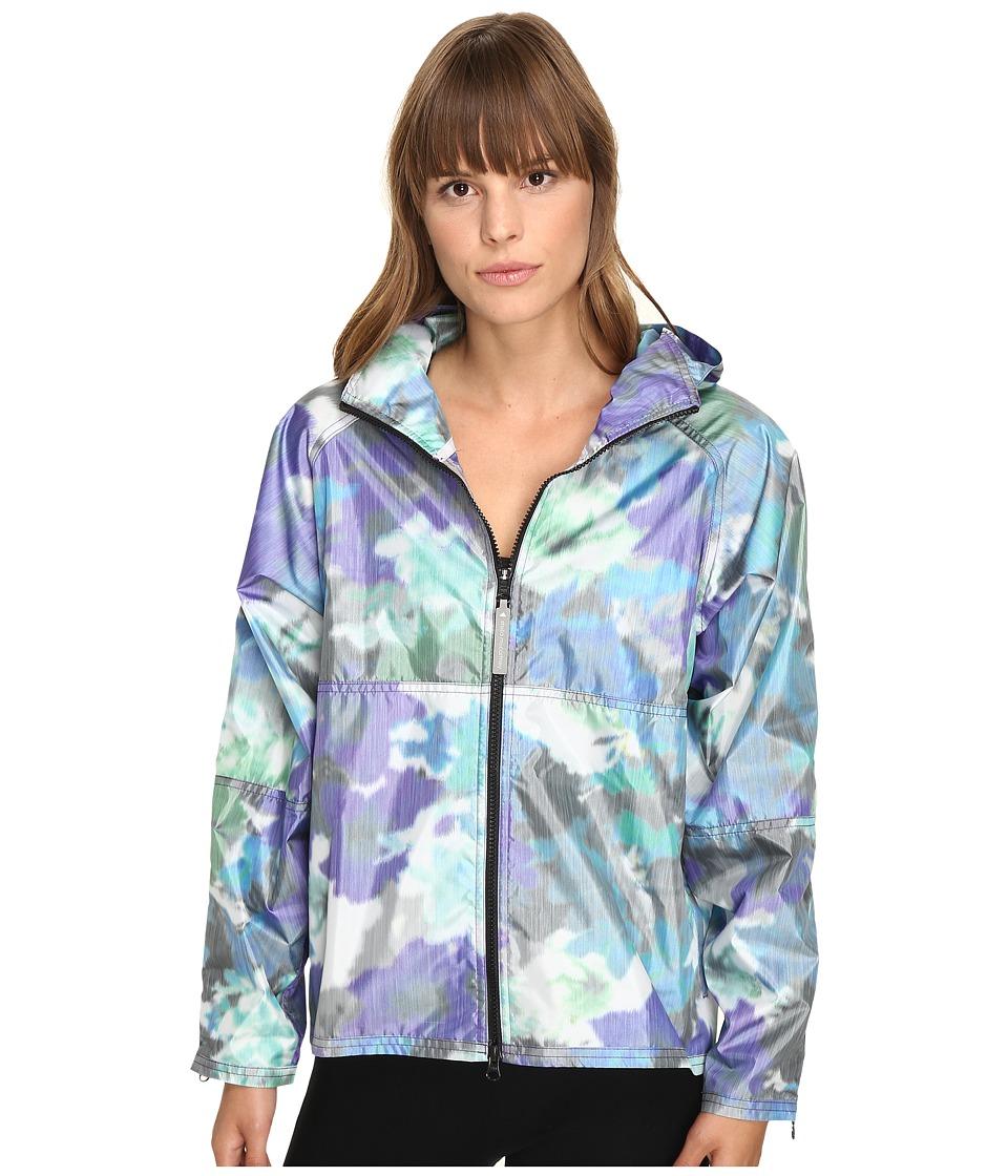 adidas by Stella McCartney - Run Novelty Bloom Jacket AX6969 (Power Purple/Black) Women's Coat