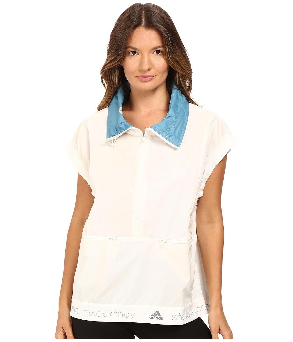 adidas by Stella McCartney - Run Reflective Gilet AX7113 (White Chalk) Women's Vest