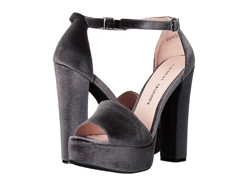 Chinese Laundry Ace (Smoke Rich Velvet) High Heels