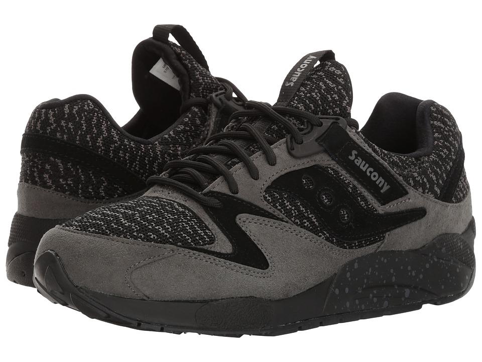 Saucony Originals - Grid 9000 Knit (Black) Men's Classic Shoes