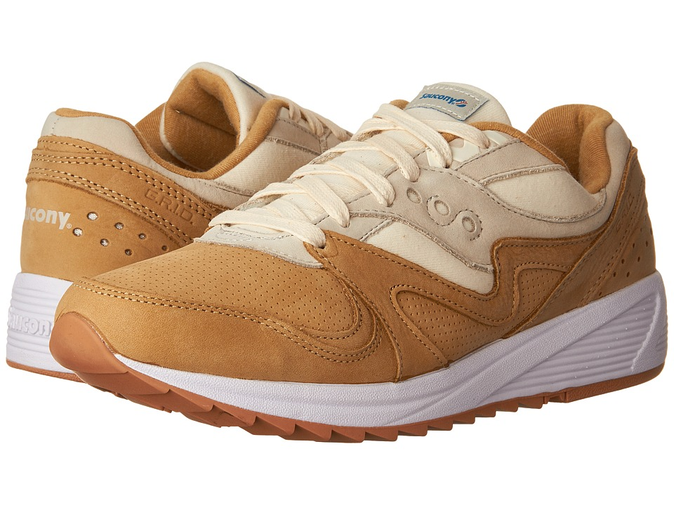 Saucony Originals - Grid 8000 (Tan/Light Tan) Men's Classic Shoes