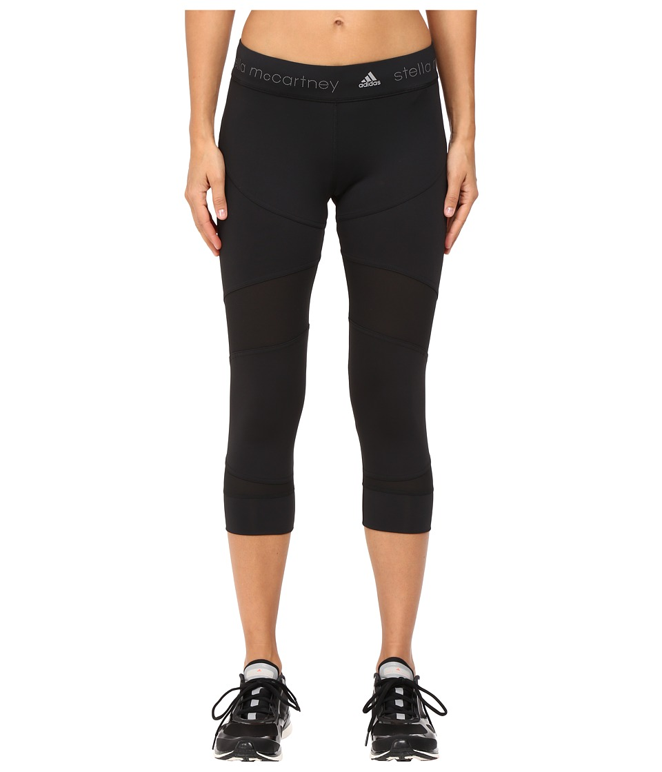 adidas by Stella McCartney - Run Clima 3/4 Tights AX7140 (Black) Women's Casual Pants