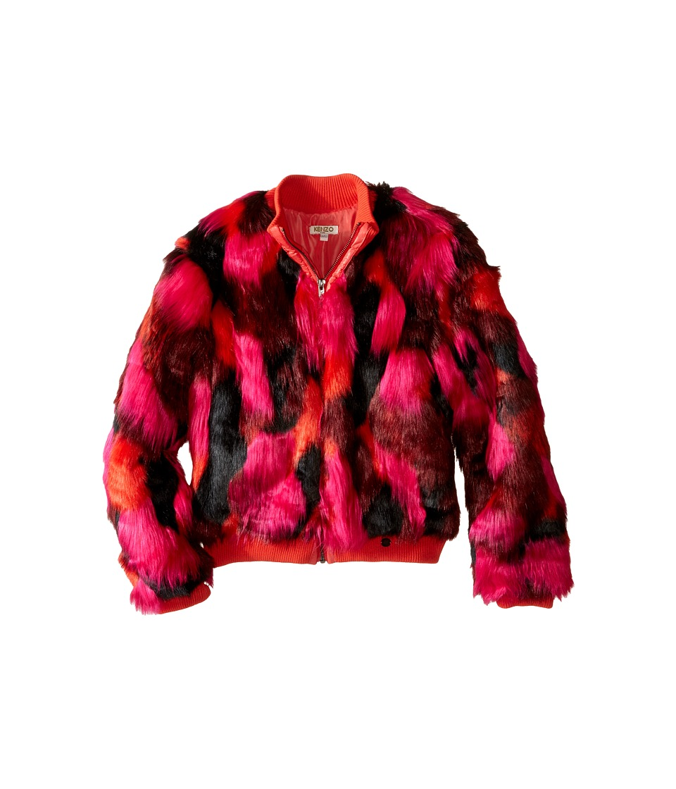 Kenzo Kids - Abba Jacket (Big Kids) (Fire) Girl's Coat