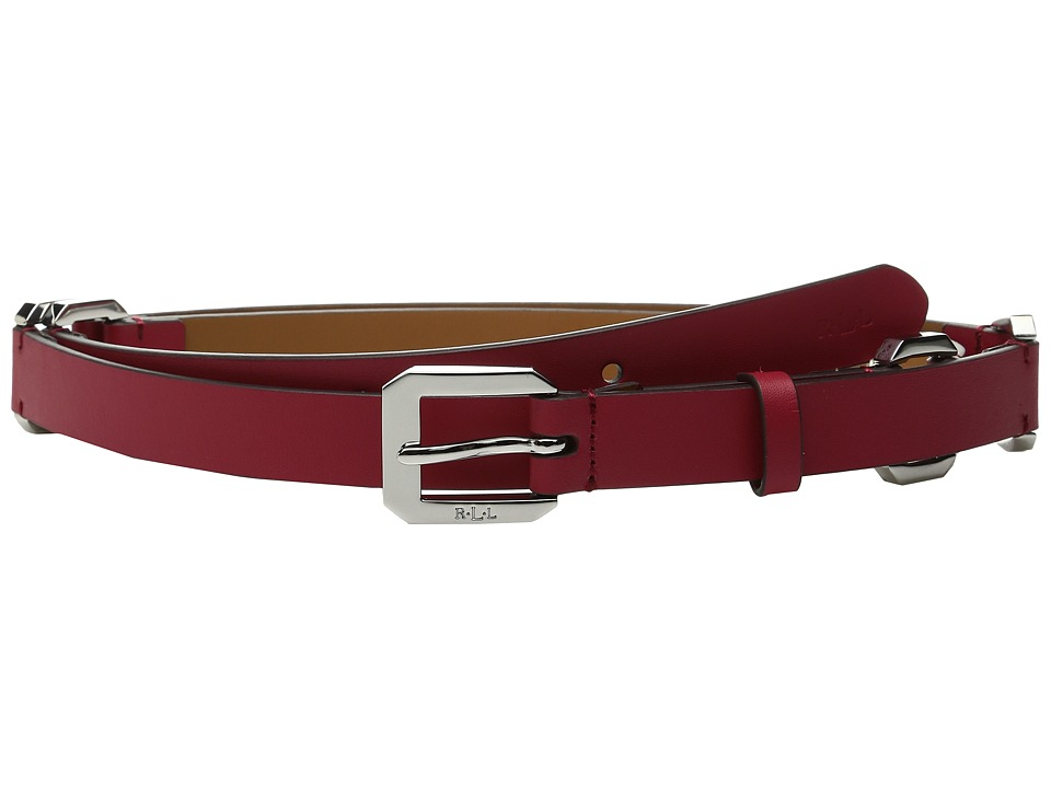 LAUREN Ralph Lauren - 3/4 Modern Link Chain Dress Belt (Tango Red) Women's Belts