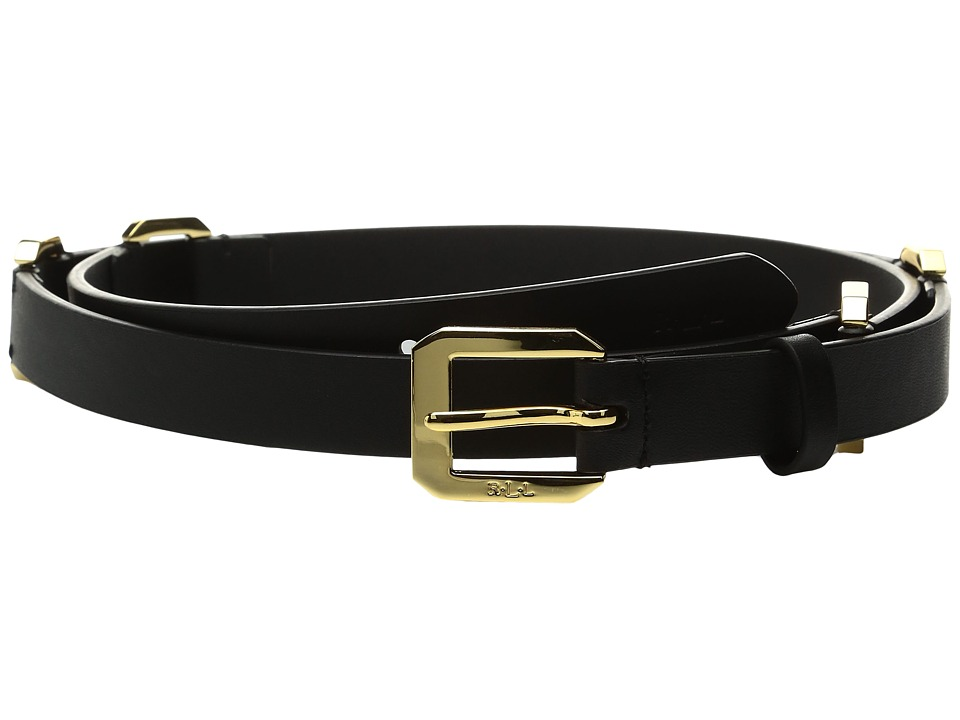 LAUREN Ralph Lauren - 3/4 Modern Link Chain Dress Belt (Black) Women's Belts
