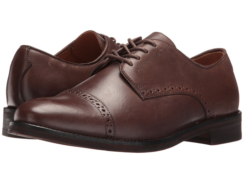 Polo Ralph Lauren Morgfield (Dark Brown Burnished Leather) Men