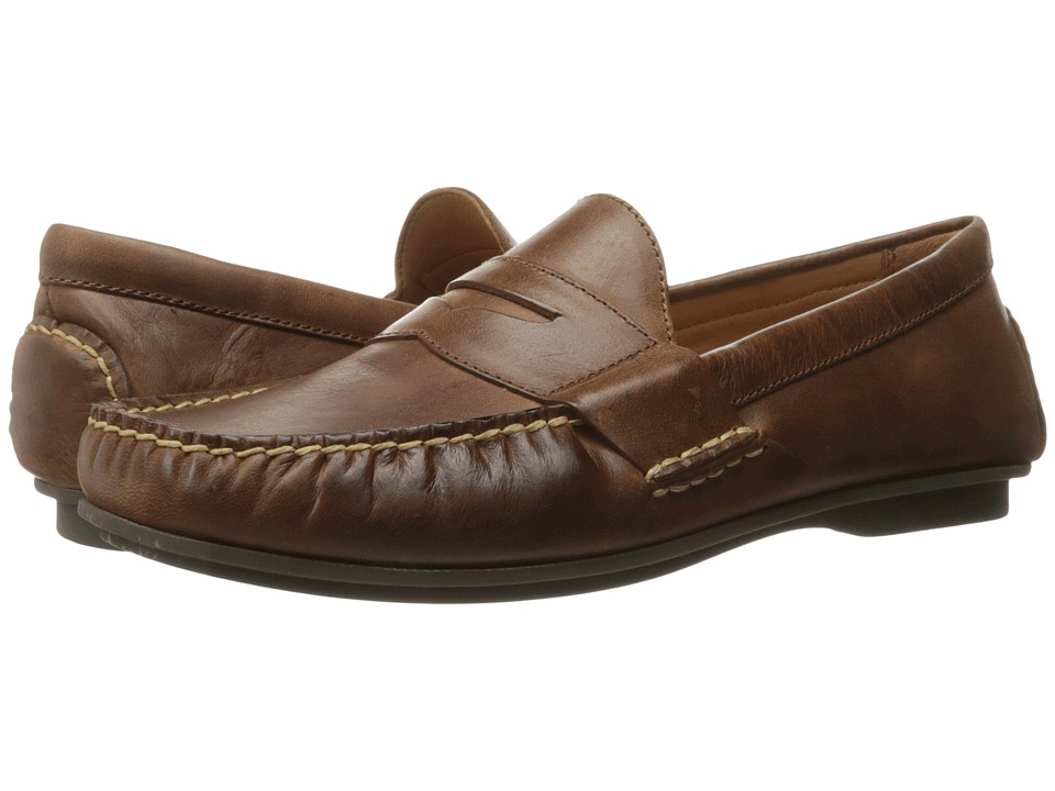 Polo Ralph Lauren - Abner (Light Tan Smooth Oil Leather) Men's Shoes