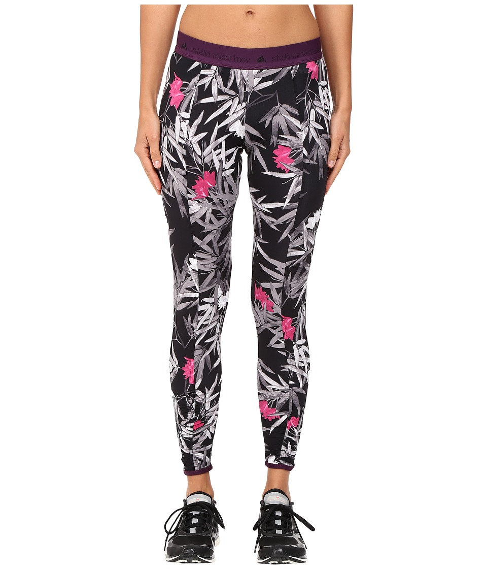adidas by Stella McCartney - Yoga Clima Bamboo Tights AX7261 (Black/Multicolor) Women's Casual Pants