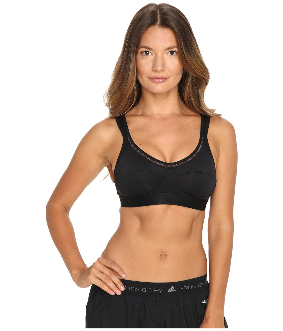 adidas by Stella McCartney - The Performance Bra AX7128 (Black) Women's Bra
