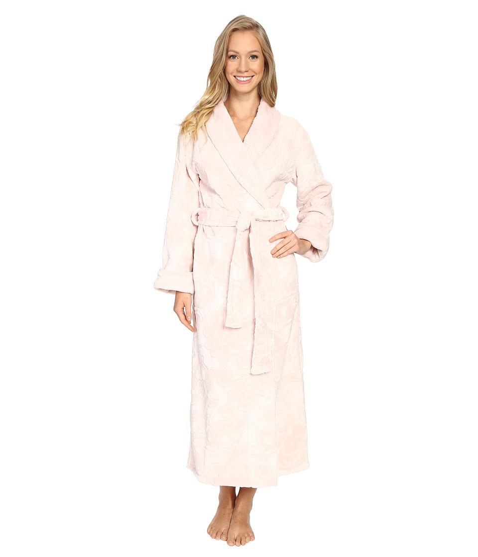 Natori - Damask Robe (Marble Pink) Women's Robe
