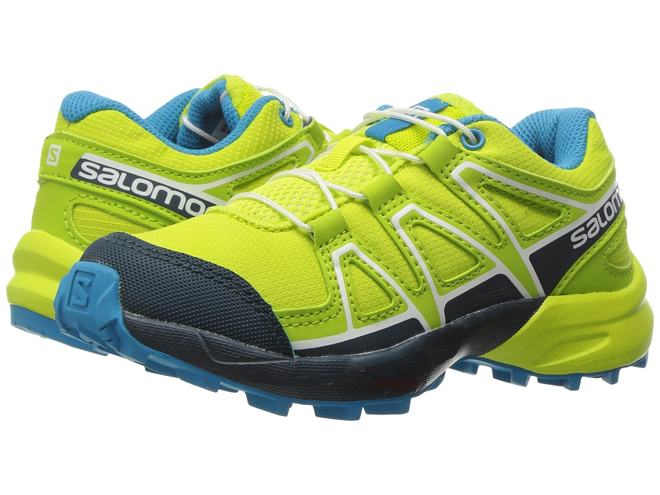 Salomon Kids - Speedcross (Toddler/Little Kid) (Lime Punch/Reflecting Pond/Hawaiian Ocean) Boys Shoes