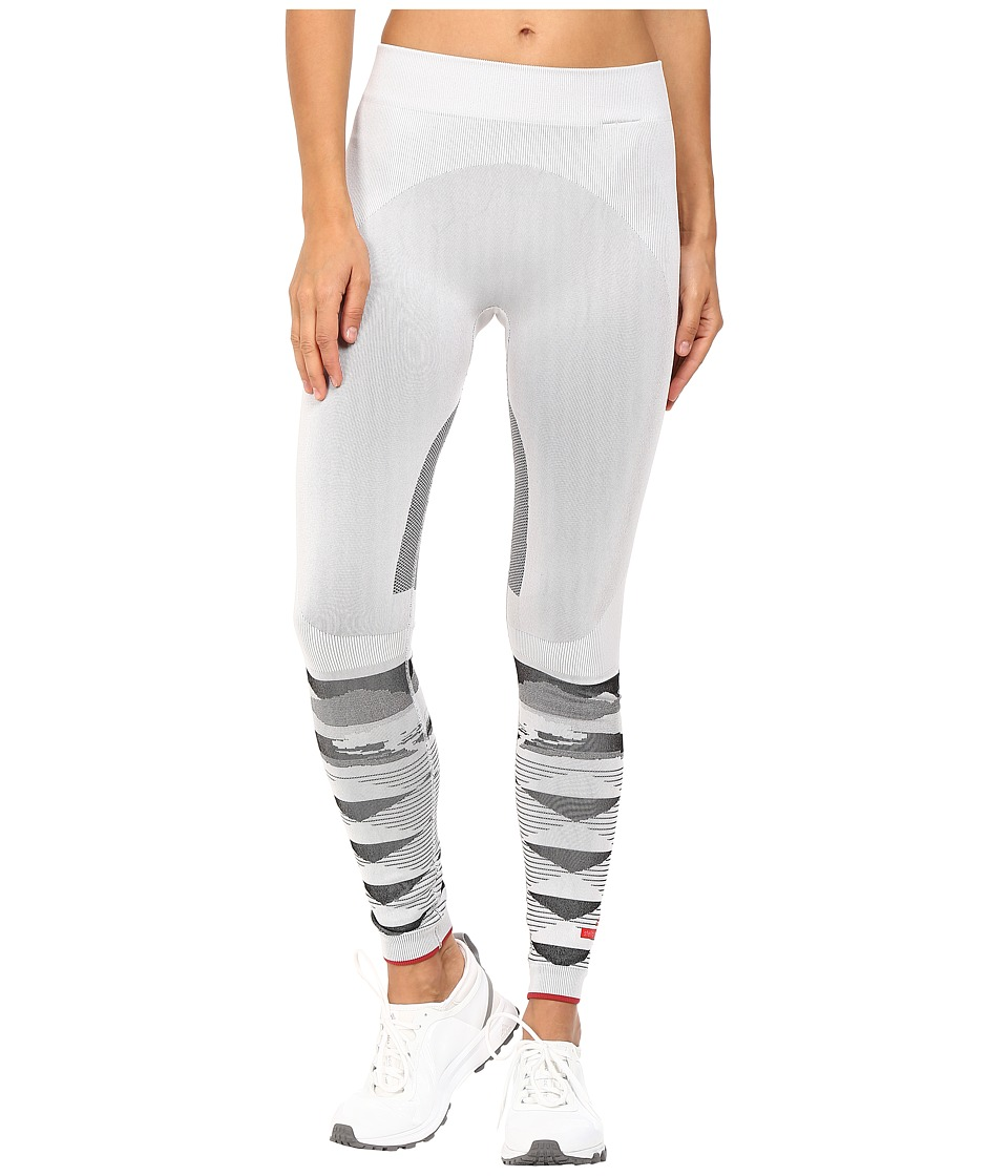 adidas by Stella McCartney - Winter Sport Seamless Tights AP7101 (White/Black) Women's Casual Pants